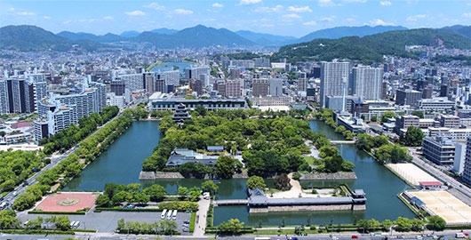 中国・四国地域に地盤を置いています。